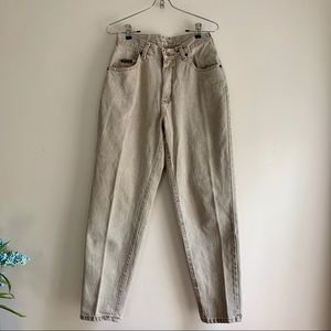 Vintage Lee Riveted • High Waisted Mom Jeans